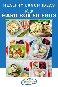 Recipe Using Hard Boiled Eggs, Hard Boiled Egg Recipes, Boiled Egg Breakfast Ideas, Healthy Egg Recipes, Healthy Meals, Health Dinner, How To Eat Paleo, Lunch Ideas, Protein