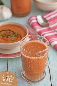 Gazpacho andaluz, cómo hacer gazpacho