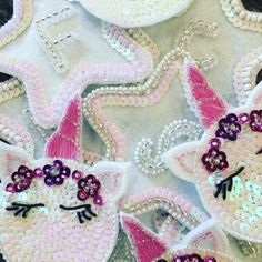 Unicorns and star initials. Tambour Embroidery, Unicorns, Embroidery Designs, Initials, Star, Photo And Video, Instagram, A Unicorn, Stars