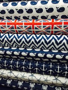 Classic Navy fabric story