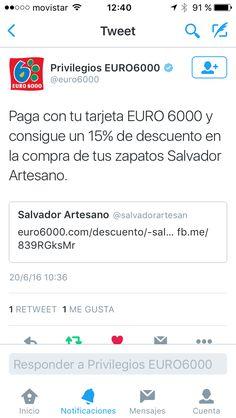 Descuentos con privilegios euro6000