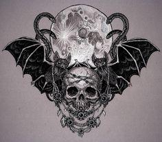 Vampires by Julia Vysotskaya, via Behance