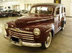 1946 Ford Super Deluxe V8 Woodie