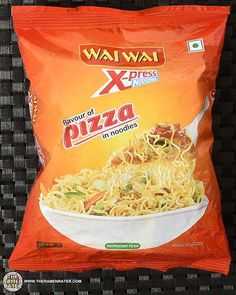 The Ramen Rater reviews his second ever pizza flavored instant noodle - this time from India and made by Chaudhary Group's Wai Wai brand