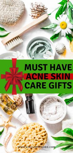 Skincare gift ideas for those with acne. Acne skincare gift ideas for Christmas. Adult Acne Treatments, Back Acne Treatment, Skin Treatments, Skin Care Routine For Teens, Best Acne Products, Acne Prone Skin, Acne Skin, Oily Skin, Sensitive Skin Care