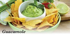 Our Healthy Guacamole Recipe is perfect for afternoon nibblies with corn chips, or add some zing to your nachos! Appetizer Dips, Appetizer Recipes, How To Warm Tortillas, Mexican Chips, Homemade Guacamole, Chef Recipes, Mexican Recipes, Yummy Recipes, Stuffed Jalapeno Peppers
