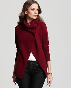 I like this look. (this one is from Eileen Fisher)