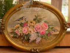 ! A rose affair - Photo © Hélène Flont‿ ◕✿: Le printemps s'invite à l'atelier.