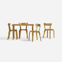 Alvar Aalto, L-Leg dining set - Aug 2017 Dining Set, Dining Chairs, Alvar Aalto, Legs, Architecture, Interior, Icons, Inspiration, Furniture