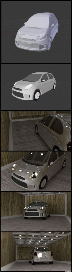 #3d model of #Nissan Micra Active XV made using #Blender 3d  https://www.youtube.com/watch?v=3-POgHKjRlA