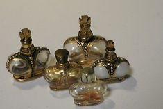 Lot-of-5-Vintage-Prince-Matchabelli-Perfume-Bottles