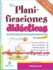 LIBROS: PLANIFICACION DIDÁCTICA PREESCOLAR POR GRADO SITUACIONES SECUENCIAS ACTIVIDADES RETADORAS ESTANDARES CURRICULARES CONTENIDOS CONCEPTUALES PROCEDIMENTALES ACTITUDINALES INNOVACIONES METODOLOGIA COMPETENCIAS APRENDIZAJES ESPERADOS EVALUACIONES ACTIVIDADES PERMANENTES RUTINARIAS CONTENIDOS TRANSVERSALES PORTAFOLIO DE EVIDENCIAS