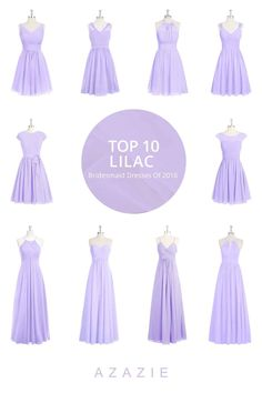 d4660e182fe lilac bridesmaid dresses 15 best outfits