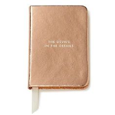 Kate Spade New York Take Note Mini Notebook - The Devil's in the Details NEW #katespadenewyork