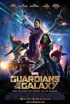 Guardians of the Galaxy -  #GuardiansoftheGalaxy  Chris Pratt, Zoe Saldana