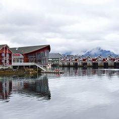 Stunning views in Svolvaer, Lofoten in Norway....