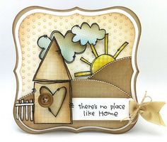 Card by Kathy Racoosin using rubber stamps from Purple Onion Designs.