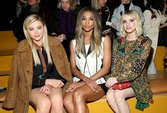 The Kardashians, Zoë Kravitz, Lady Gaga and more familiar faces from the front rows of New York Fashion Week.