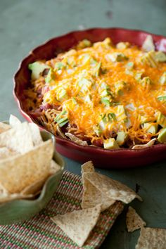 Paula Deen Five-Layer Taco Dip