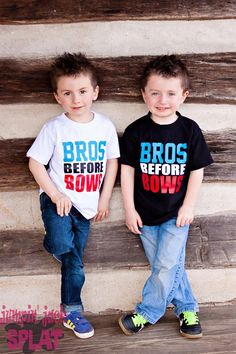 Best Selling Bows before Bros and Bros before Bows tee's!