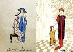 C'est pour Marguerite, par Marguerite, que Jeanne Lanvin devient couturière pour enfants. Mais elle ne perd jamais de vue sa stratégie des affaires ni ses ambitions professionnelles.