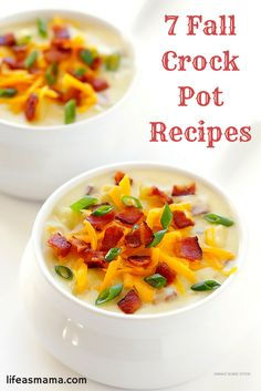 Even though your crock pot can be used year round, doesn't everything taste the best when the weather turns chilly and crisp? Soups, stews and chilis all taste just wonderful when you're warming from the inside out. Fall is slowly rolling in, and I've found some of the tastiest recipes out there. Check out these festive meals and get slow cooking.