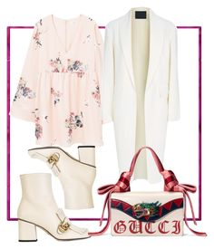 """""""Untitled #165"""" by hibiah on Polyvore featuring MANGO, Alexander Wang and Gucci"""