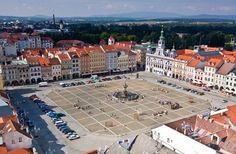 České Budějovice, Czech Republic My mother's paternal grandparents were from a small town near this city. ( Ktiš f/k/a Tisch, Bohemia)