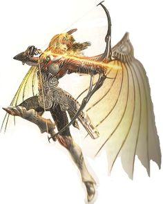 Miranda, the Legend of Dragoon [Archer, cool armor, no bare midriff...]