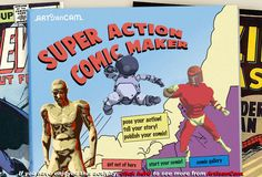 Art Inspired / Comics, Cartooning and Graphic Novel Lesson and Unit Plans