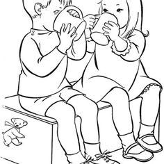 drinking water coloring page more information