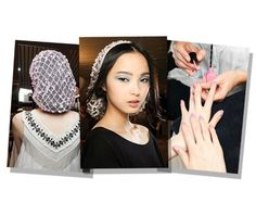Backstage at Chanel Couture ss13.......sigh!
