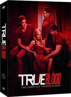 True Blood SEASON 4 - HBO Series - Complete Fourth Season - DVD Set