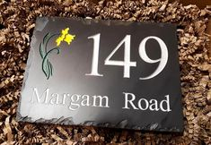 Looking for a new house sign but want to design it yourself?  It couldn't be easier with our online design feature! www.valleymill.co.uk/products/signs  All of our Welsh slate house signs are made to order, down to the finest details.