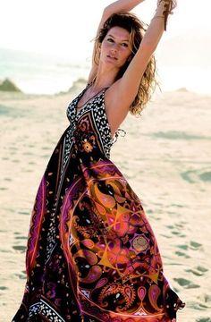 #maxi #dress #beachwear #beach #fashion #summer OUTFITS I COVET   Big Fashion Show maxi dress #dkny #dress
