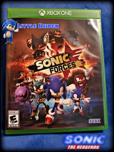 Sonic Forces | Xbox One | Little Ruben | Xbox 1 S Game | Sonic The Hedgehog