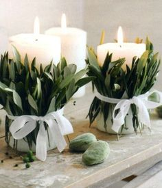 Greenery wedding decor. Pinterest wedding trends 2017