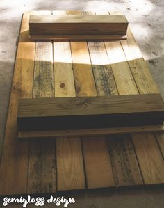 How to build the easiest DIY daybed ever! In just a few hours, you will have a rustic, modern daybed. This project is perfect for beginner builders!!