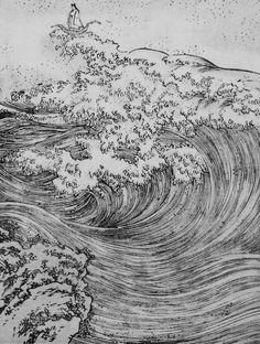 Ukiyoye print Japan 19th C.