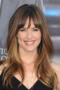Jennifer Garner - relaxed bangs