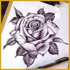 Beautiful result picture for the best of realistic pink drawing - tattoos - # for the best . - Beautiful result picture for the best of realistic pink drawing – tattoos – # for the b - Hand Tattoos, Skull Rose Tattoos, Unique Tattoos, Beautiful Tattoos, Flower Tattoos, Body Art Tattoos, Sleeve Tattoos, Flower Tattoo Hand, Tatoos