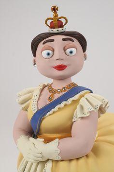 Queen Victoria #maquette - Amanda Darby - #Aardman Animation