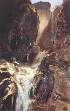 A Waterfall SARGENT