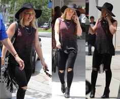 Hilary Duff out and about in West Hollywood, California on June 1, 2015