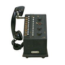 Very Rare National Cash Register Credit Stamping Phone C1940
