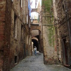 Siena, tipical alley