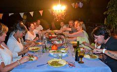 Gezellig tafelen en een bekende J was er ook!
