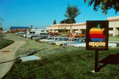 Growing up here in Cupertino, this is what we think of when we think of Apple Computers.  Our little hometown Apple is now all grown up! #Apple #Cupertino #History