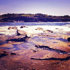 The beach rocks. Instagram: @wearehandsome