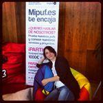 Descubriendo #papapuf en el #EBE12 de la manera más cómoda posible :) Photo - María bibliovirtual   Lockerz